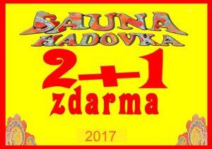 letní akce pražská Sauna Hadovka a Sauna nad Džbánem